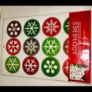 New in Package ADD-HERES Nordic Snow Dots